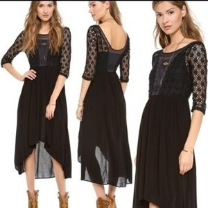Free People Snap Out Of It Lonesome Dove Dress